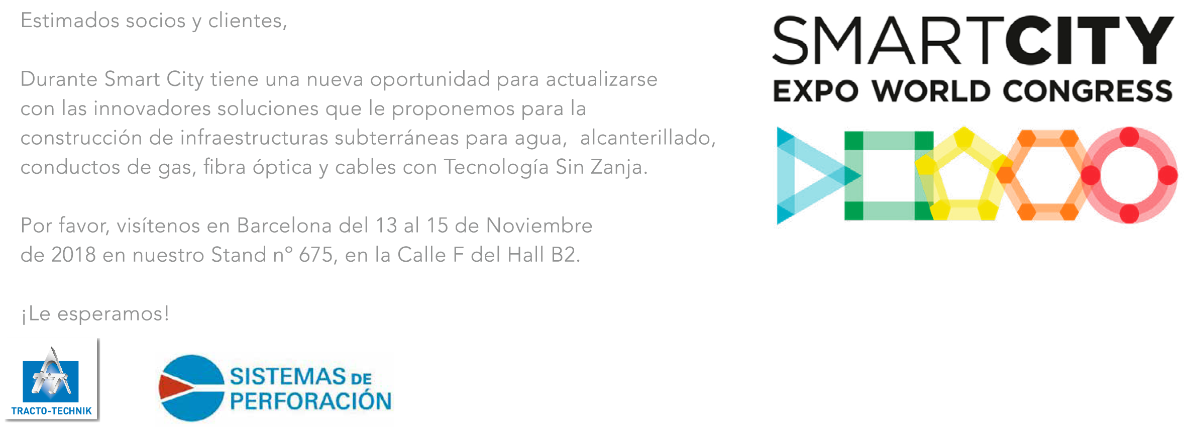 invitación smart city expo